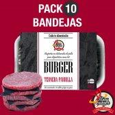 FITNESS BURGER PACK 10 BANDEJAS 50 HAMBURGUESAS