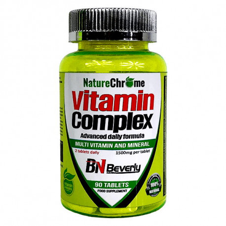 BEVERLY VITAMIN COMPLEX 90TABLETAS