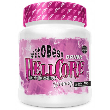 VIT.O.BEST HELLCORE WOMAN 300G