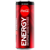 COCA COLA ENERGY ZERO 250ML