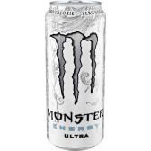 MONSTER ENERGY ULTRA WHITE ZERO 500ML
