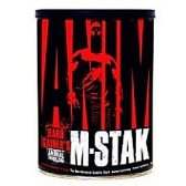 NEW UNIVERSAL ANIMAL M-STAK 21 PACKS