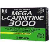 BEVERLY MEGA CARNITINE 3000 20 AMP.