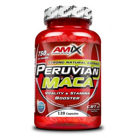 AMIX PERUVIAN MACA 120 CAPS